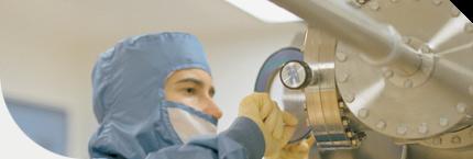 Salle blanche du Laboratoire de microfabrication